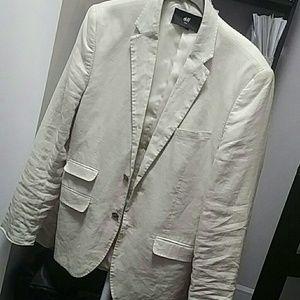 H&M Suits & Blazers - H&M Linen Blazer 36